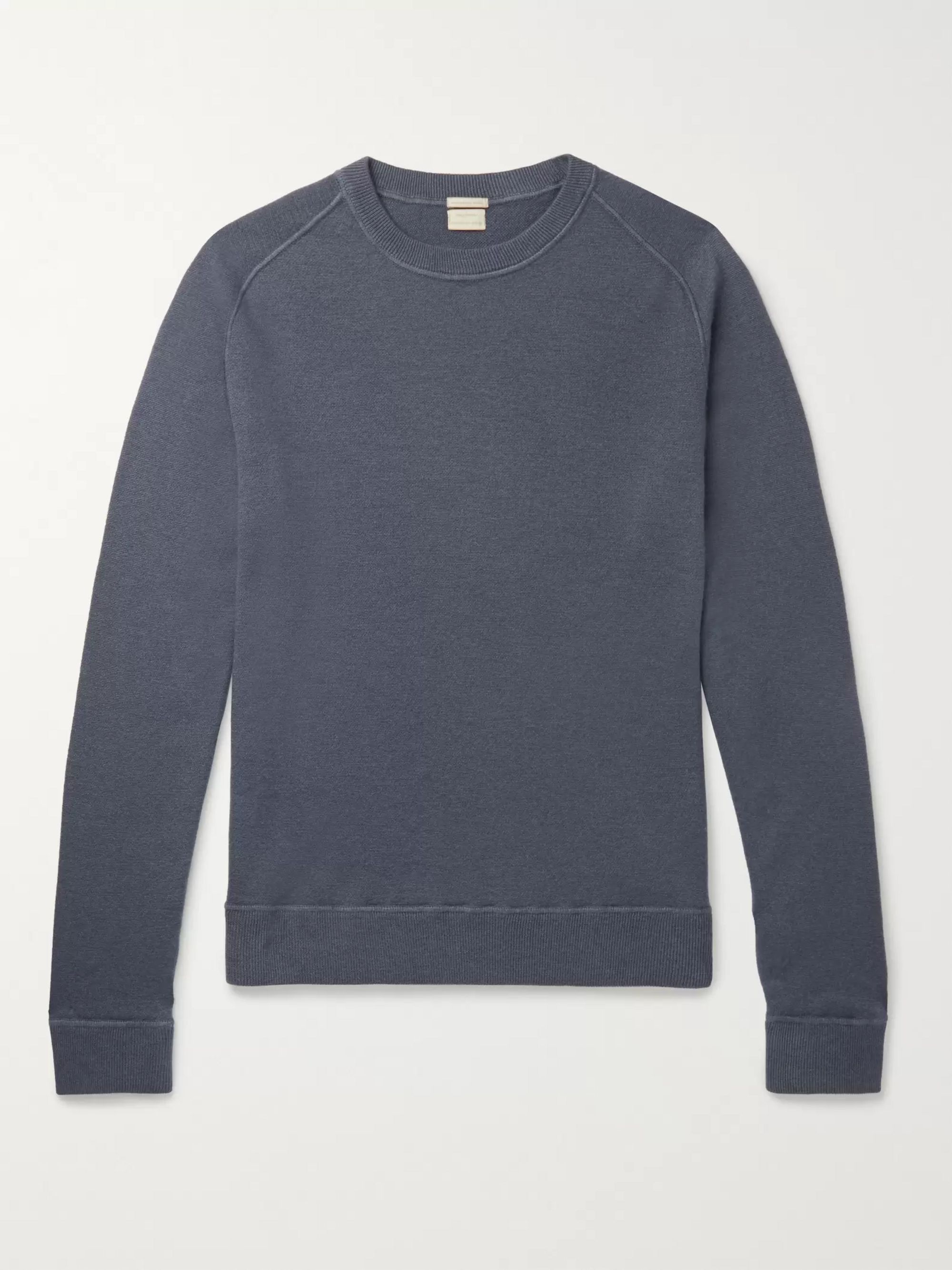 4f731f69a44 Garment-Dyed Cashmere Sweater