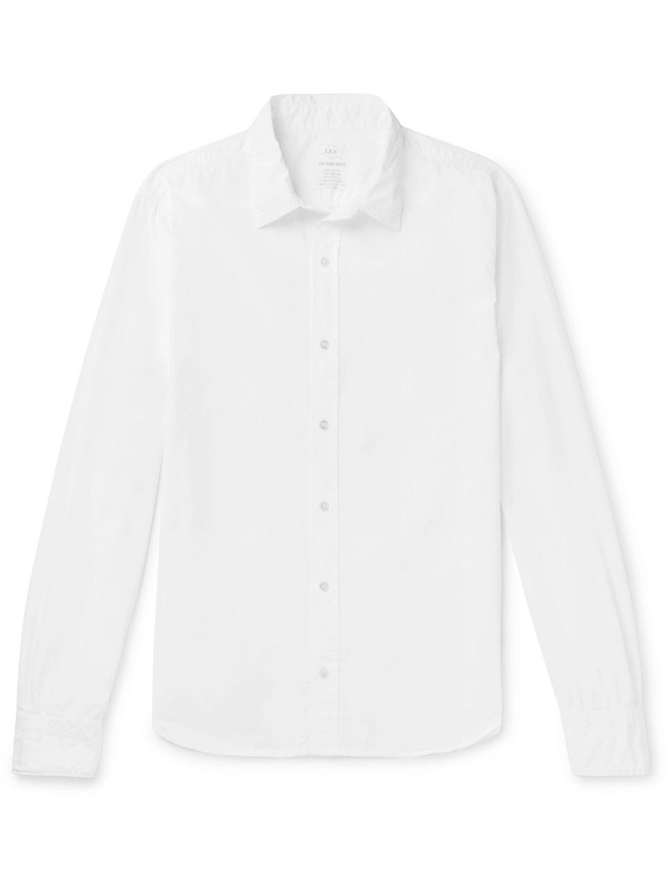 Save Khaki United Cotton-Poplin Shirt