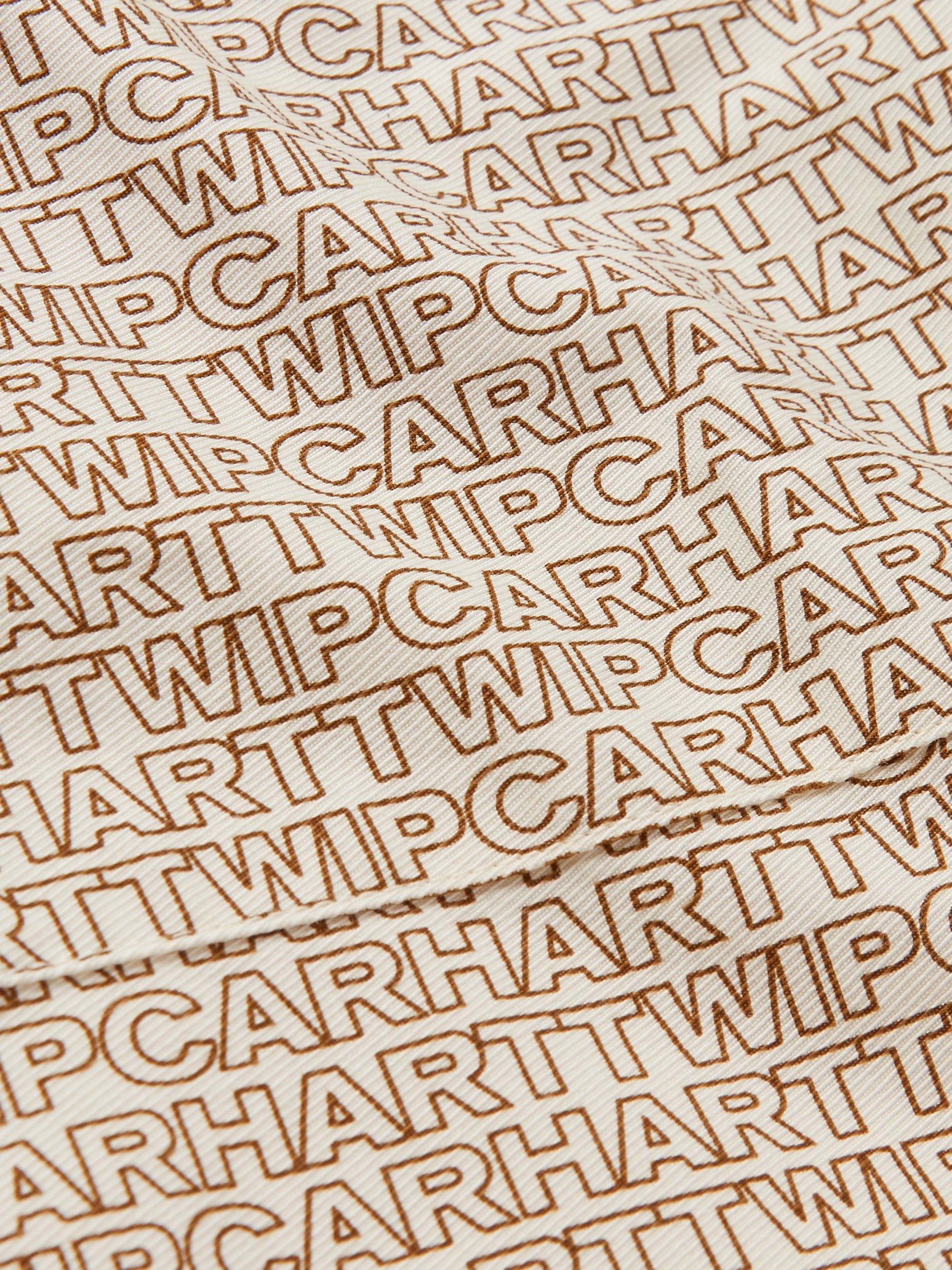Carhartt WIP Logo-Print Cotton-Twill Shirt