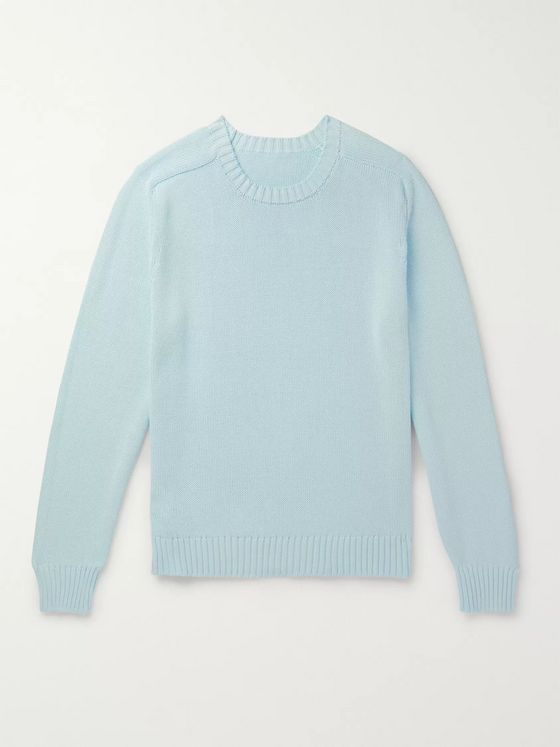 Anderson & Sheppard Cotton Sweater