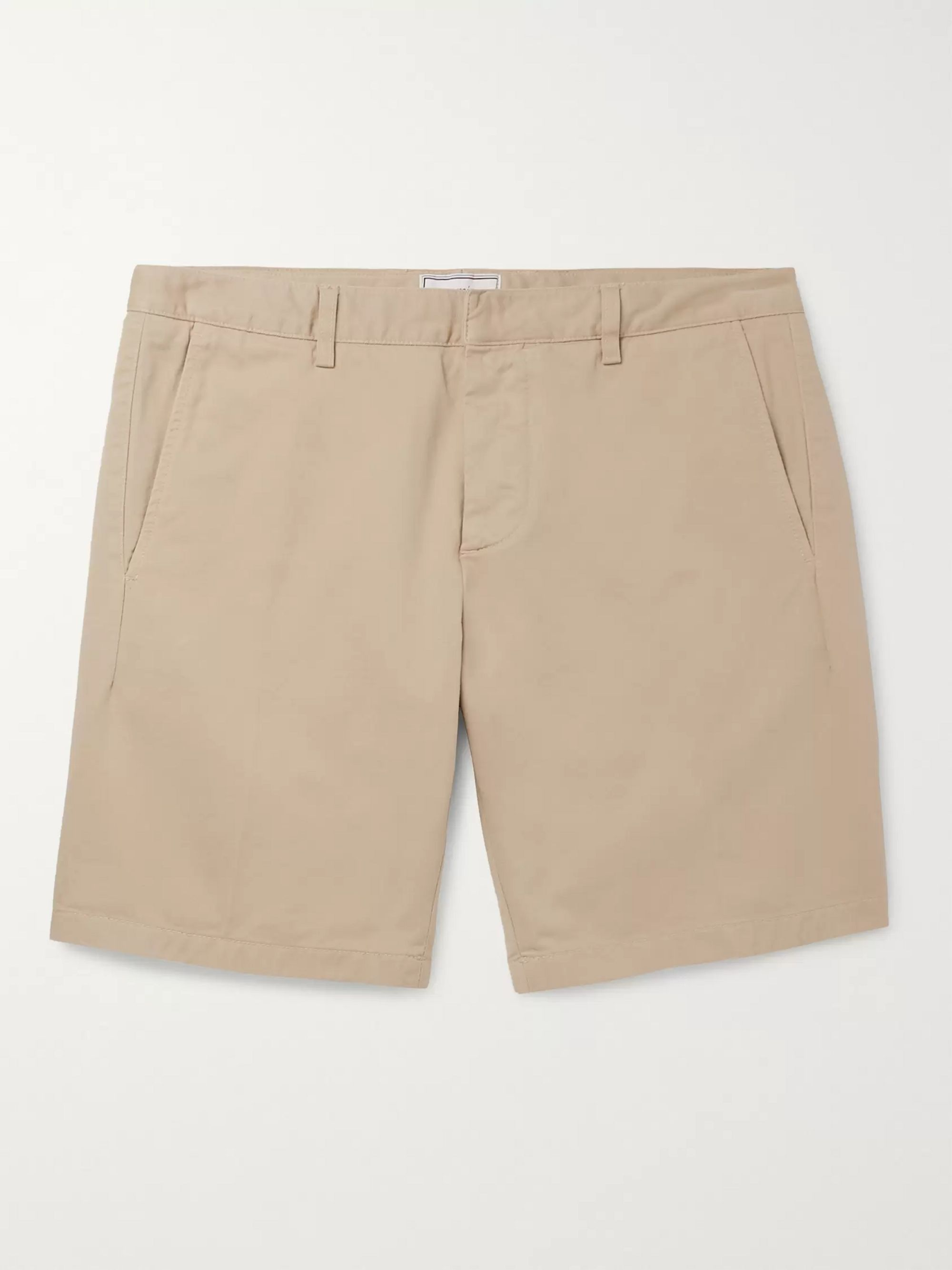 AMI Slim-Fit Cotton-Twill Bermuda Shorts