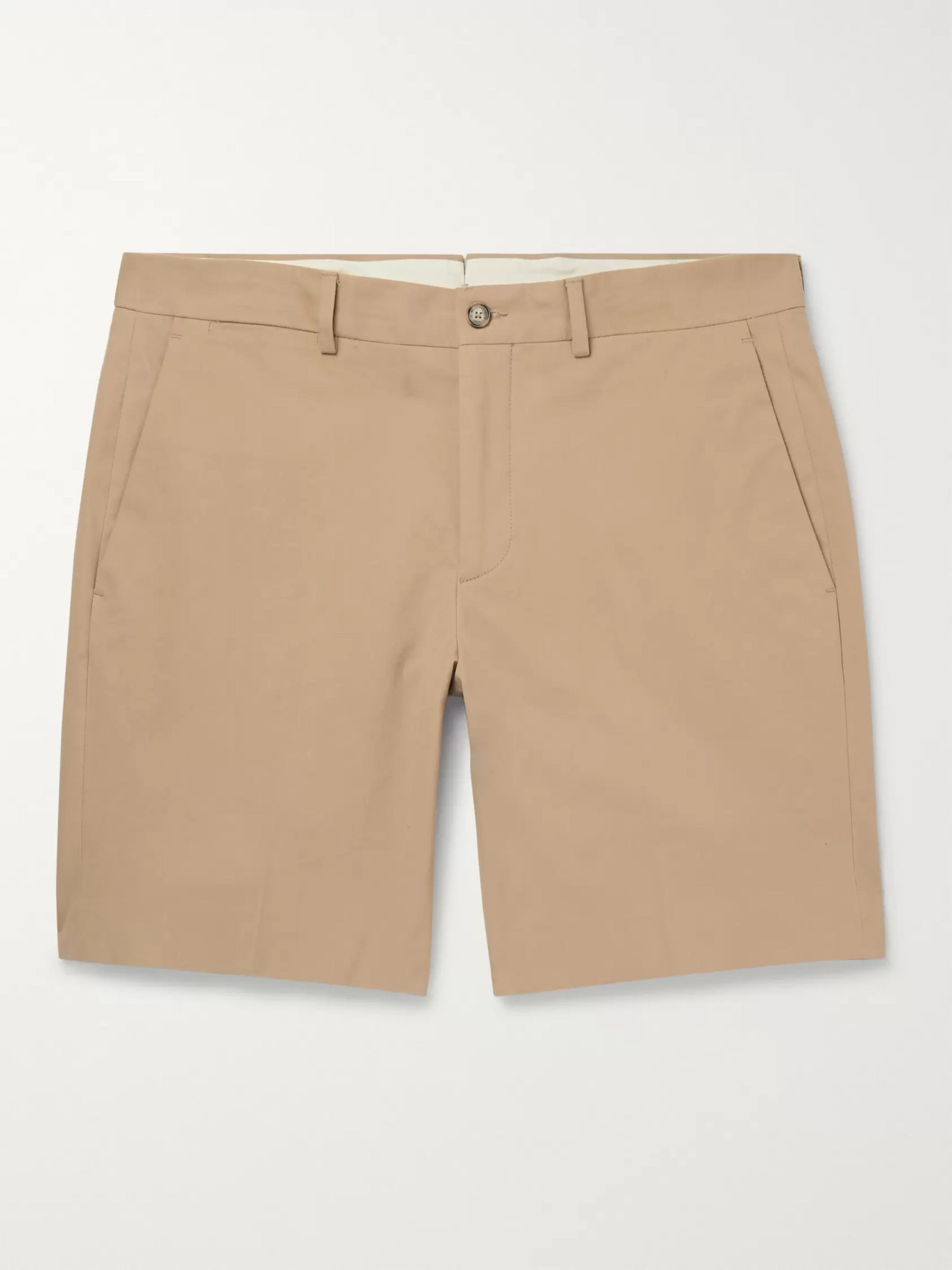 Ralph Lauren Purple Label Knightsbridge Slim-Fit Stretch-Cotton Twill Shorts