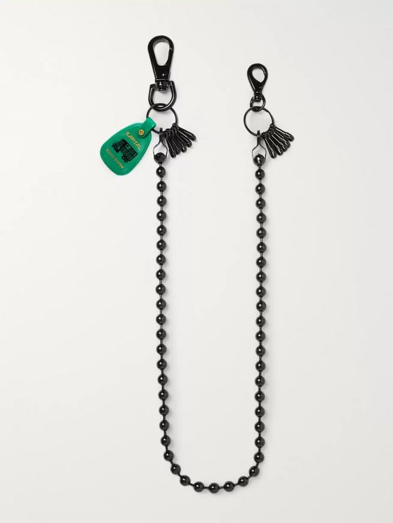 KAPITAL Embellished Metal Safety Chain