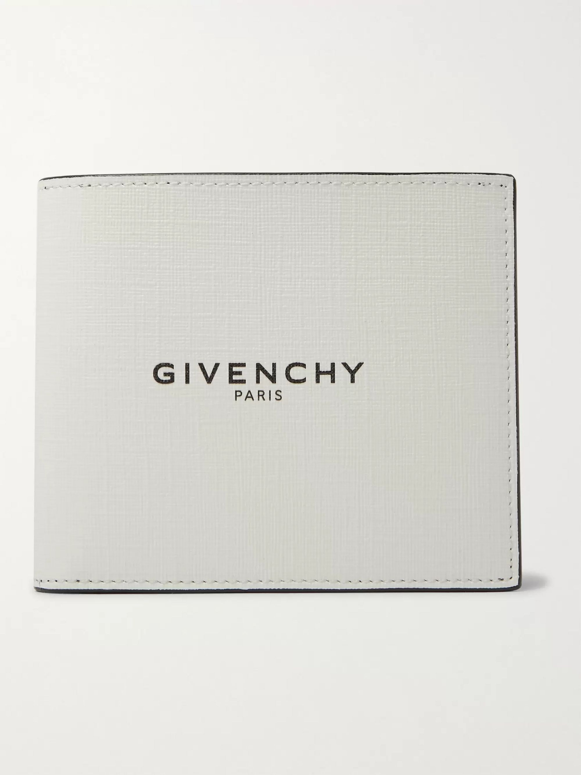 Givenchy Glow-in-the-Dark Logo-Print Coated-Canvas Billfold Wallet