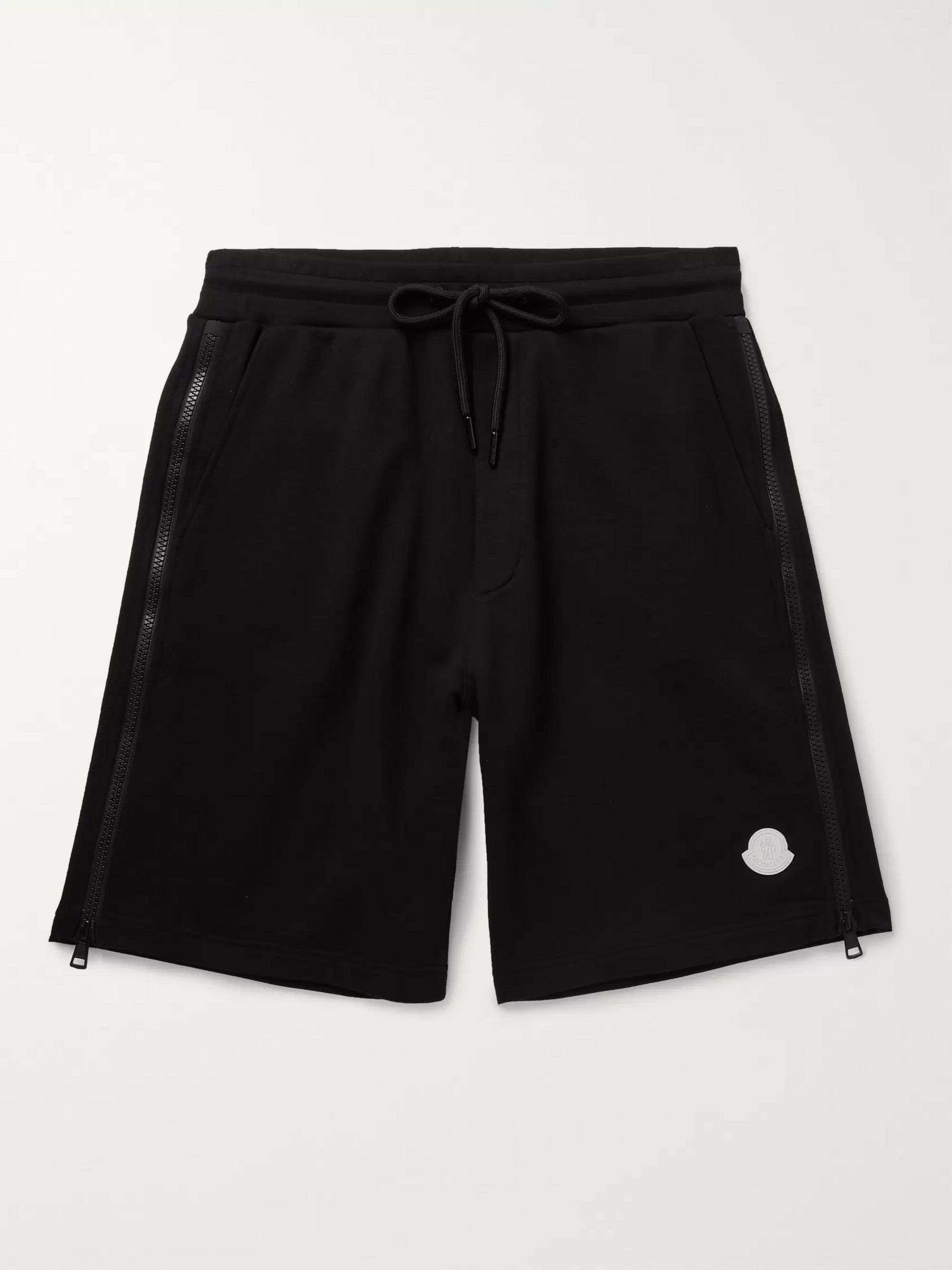 Moncler Loopback Cotton-Jersey Shorts