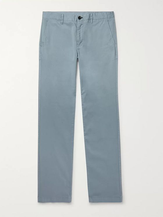 PS Paul Smith Slim-Fit Stretch-Cotton Twill Trousers