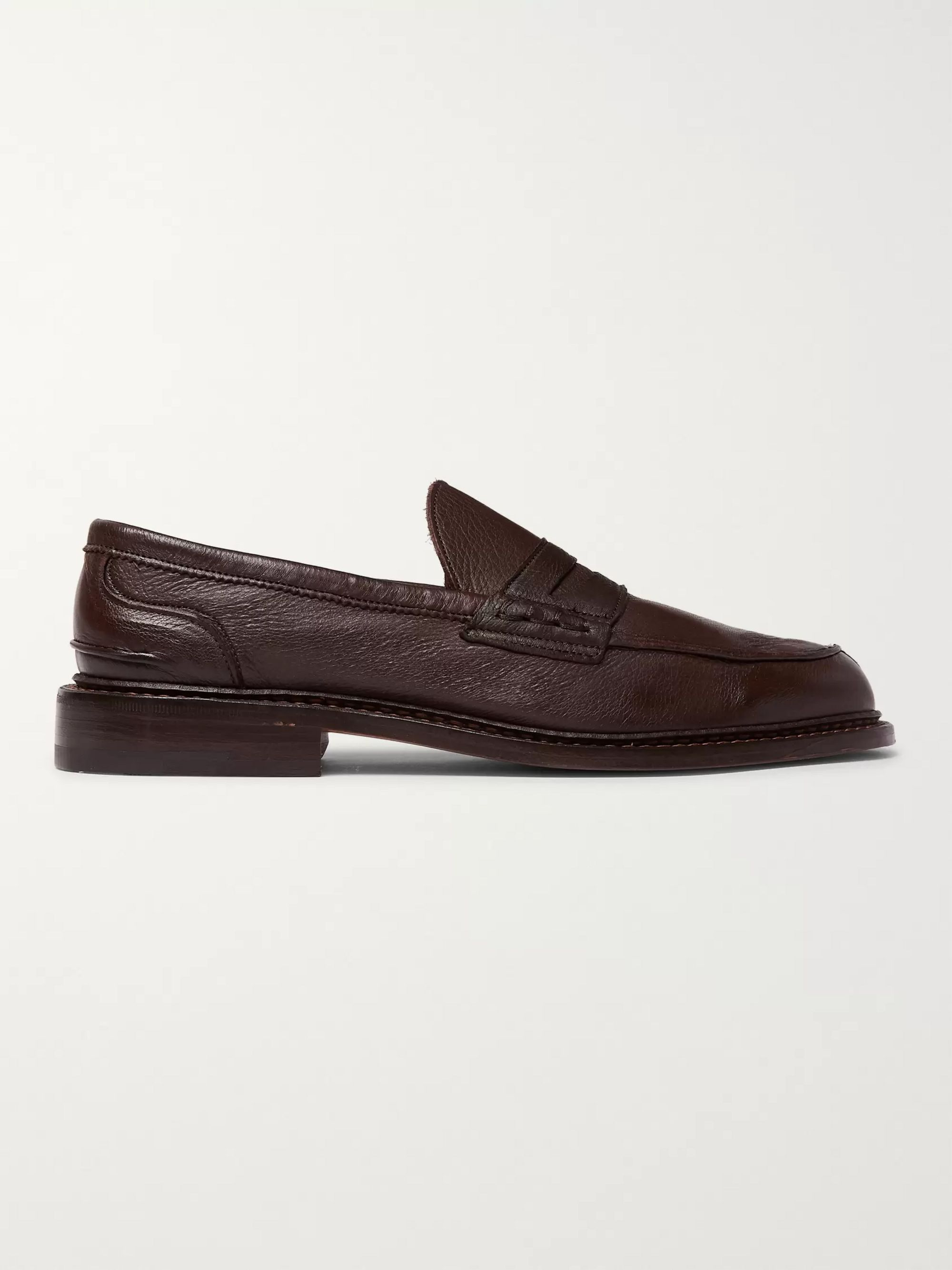 Tricker's Adam Full-Grain Leather Penny Loafers