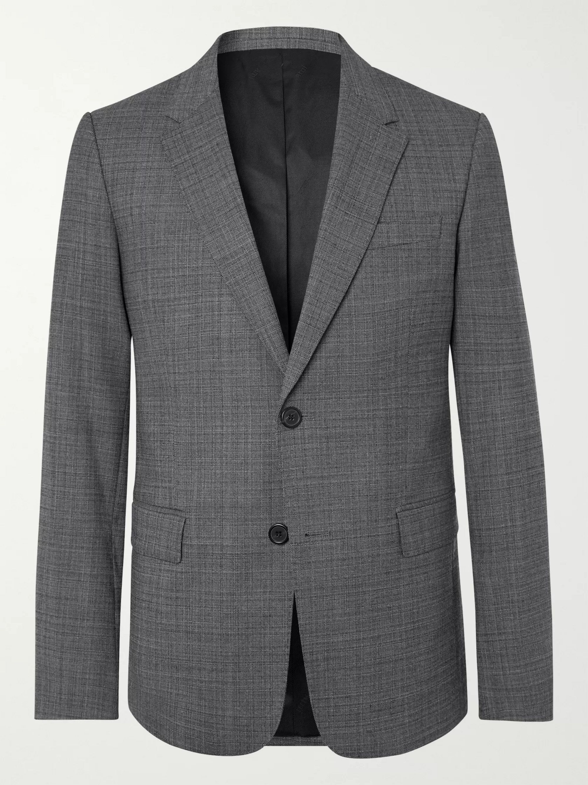 AMI Grey Tweed Suit Jacket