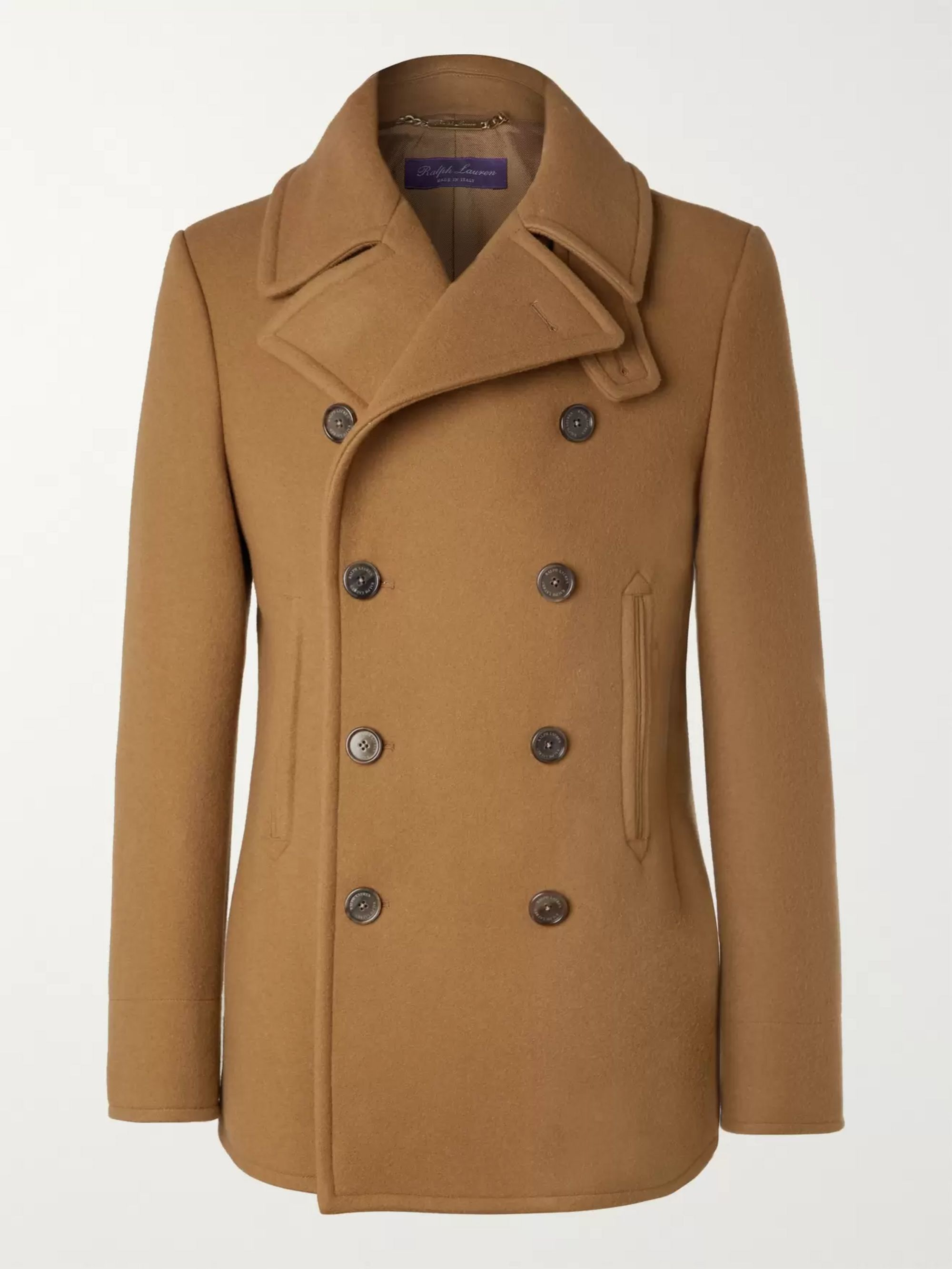 modern style latest selection of 2019 fast color Fullerton Double-Breasted Wool and Cashmere-Blend Peacoat