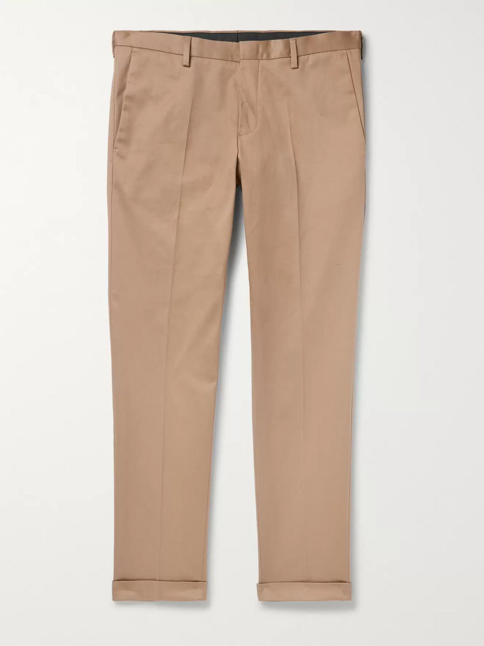 Paul Smith Slim-Fit Tapered Cotton-Blend Twill Trousers