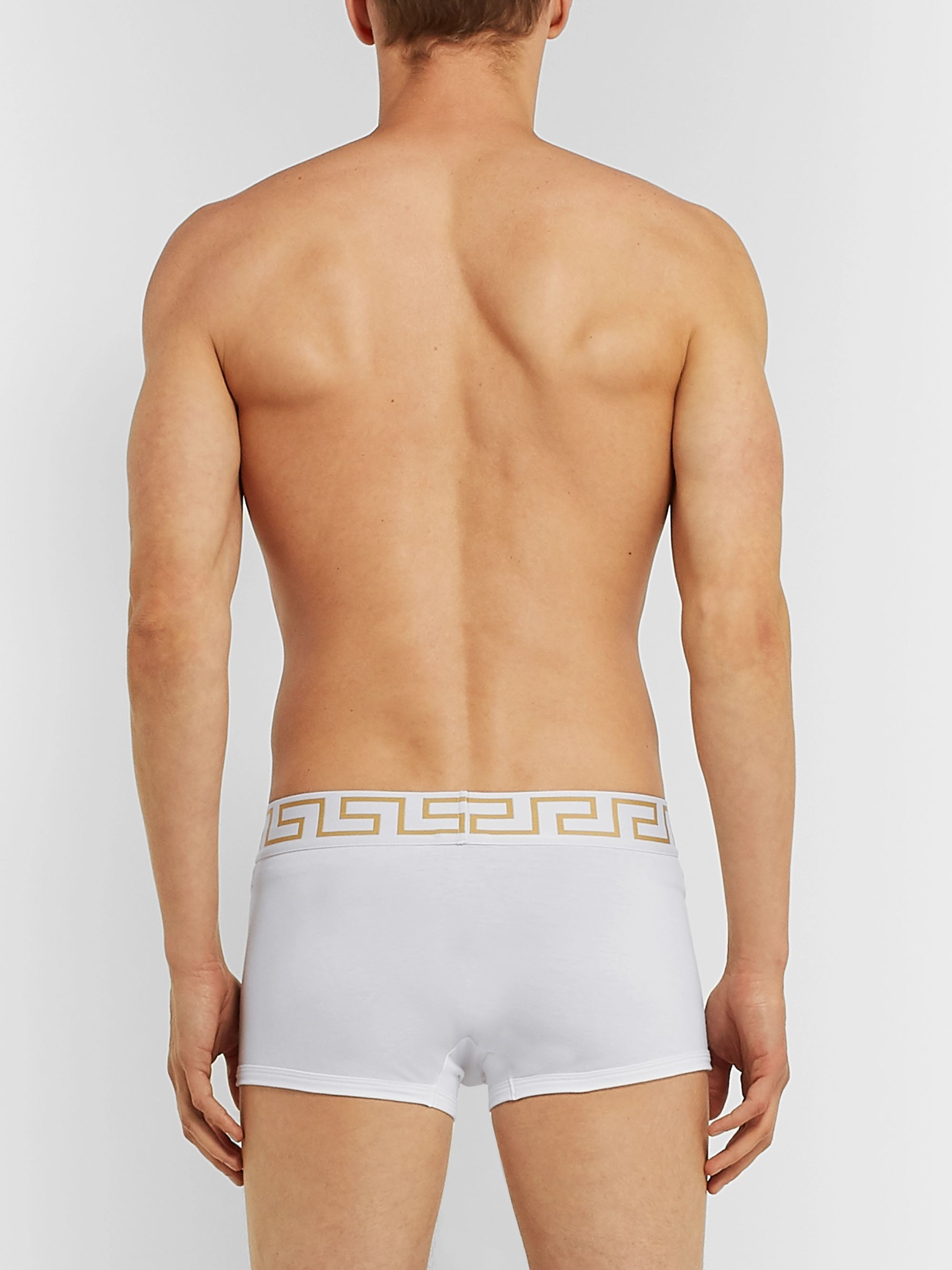 Versace Stretch-Cotton Boxer Briefs