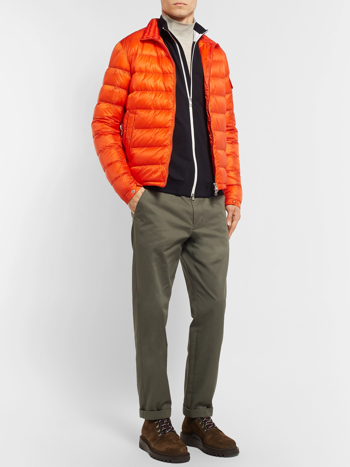 Moncler Tops LOOPBACK STRETCH