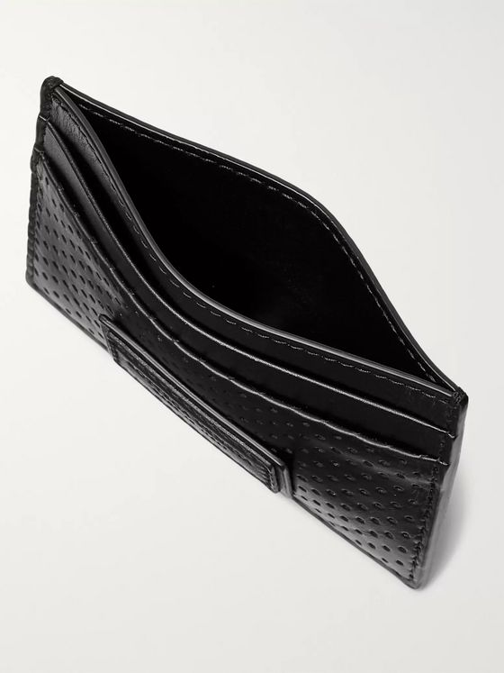 Bottega Veneta Perforated Leather Cardholder