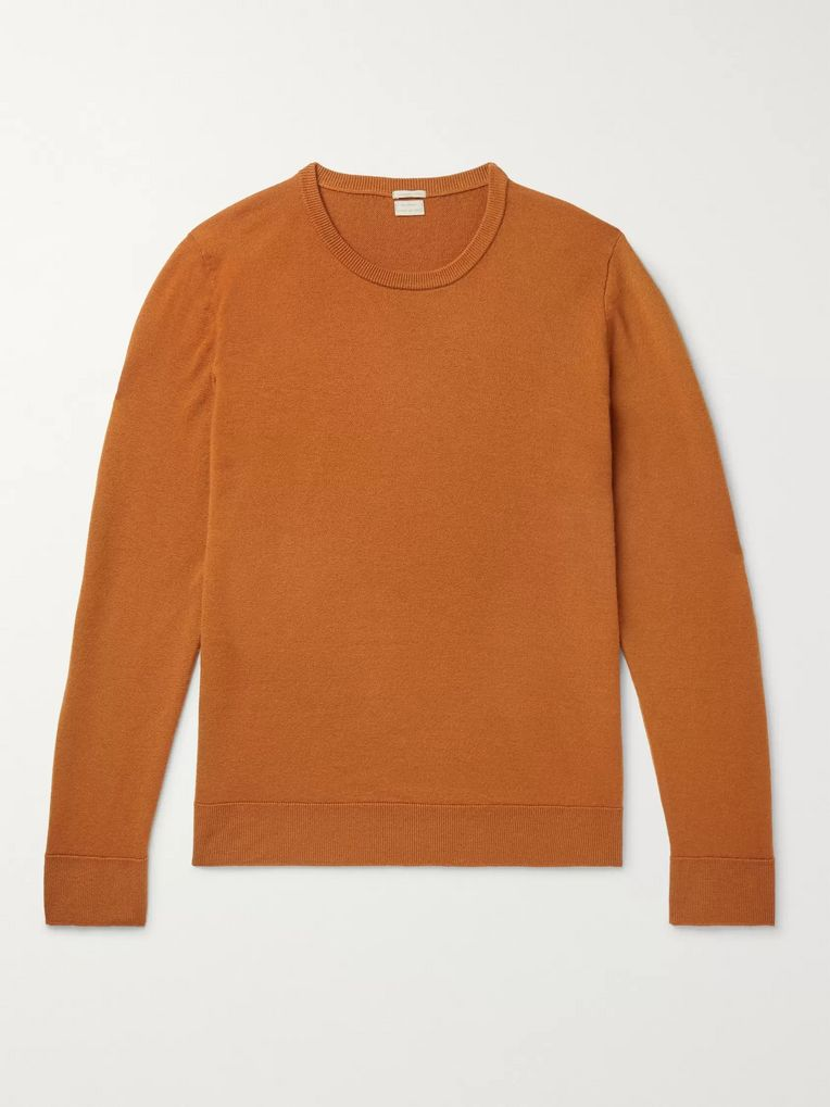Massimo Alba Slim-Fit Watercolour-Dyed Cashmere Sweater