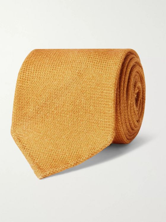 Drake's 8cm Wool, Silk and Cashmere-Blend Tie