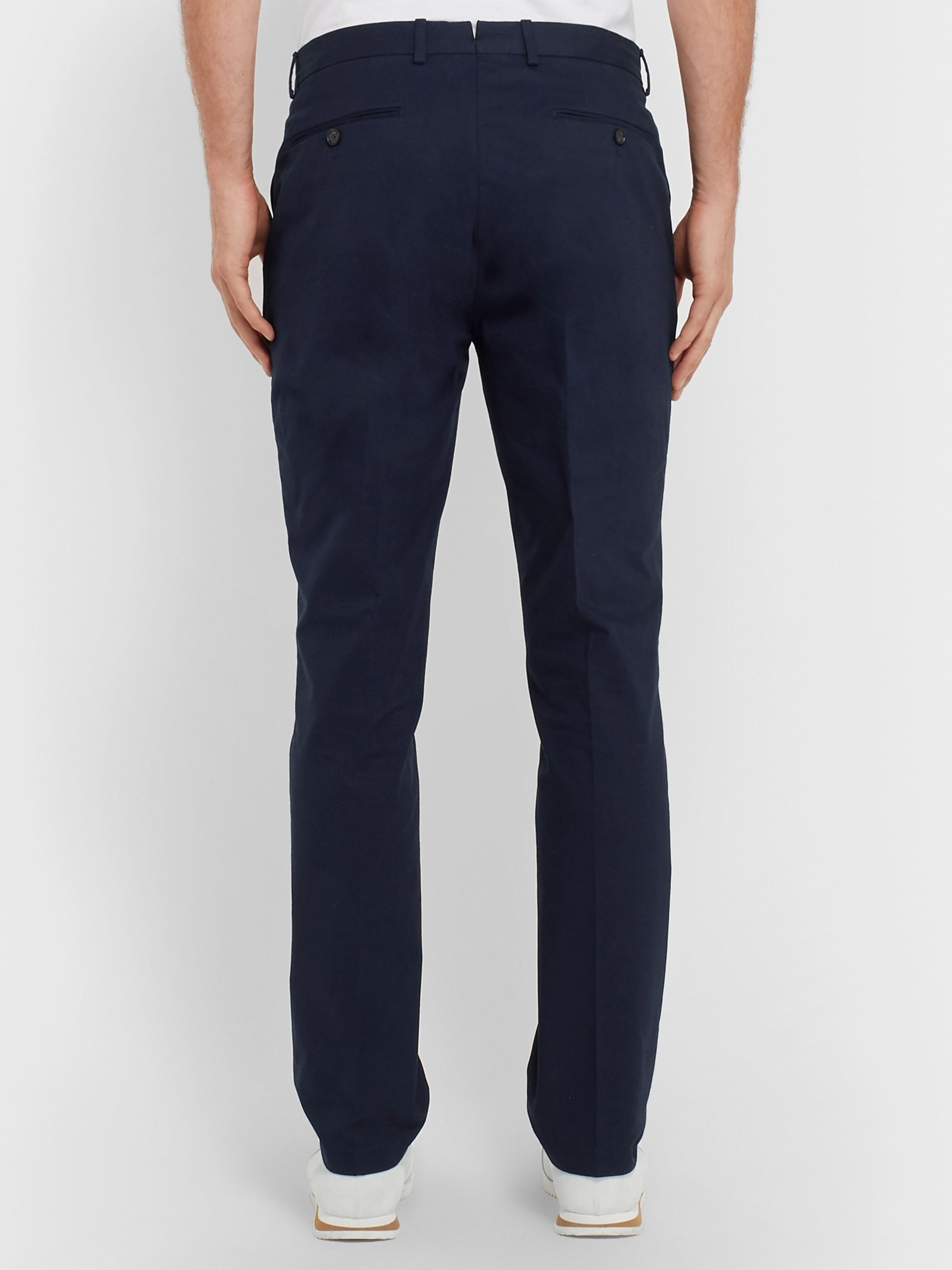 Ralph Lauren Purple Label Knightsbridge Stretch-Cotton Twill Chinos