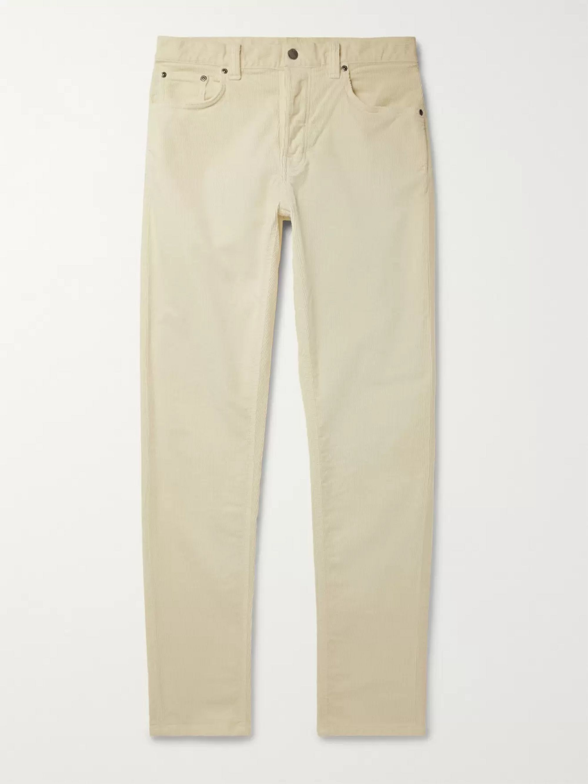 Nudie Jeans Steady Eddie II Organic Stretch-Cotton Corduroy Trousers