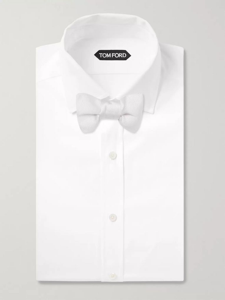 TOM FORD Pre-Tied Silk-Faille Bow Tie