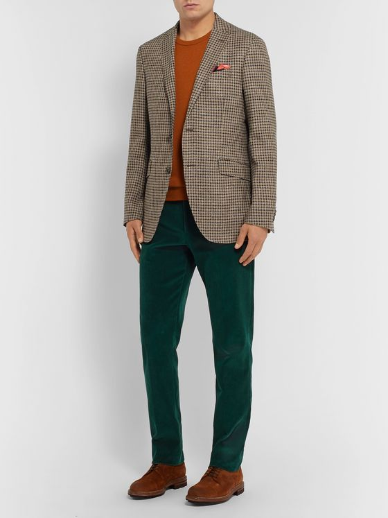 Etro Slim-Fit Cotton-Corduroy Trousers