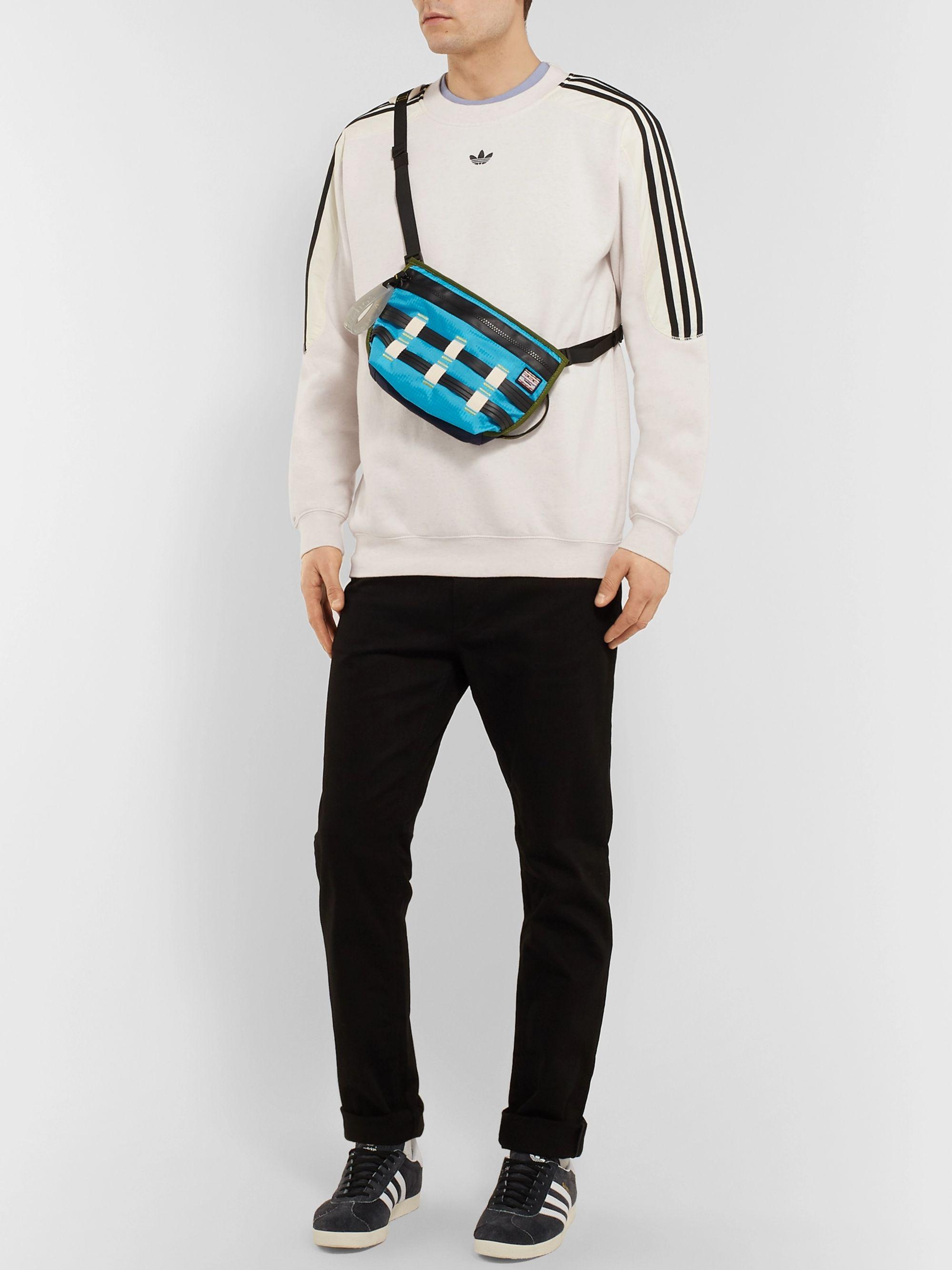 Men adidas Originals Radkin Sweatpants Cheap Off White