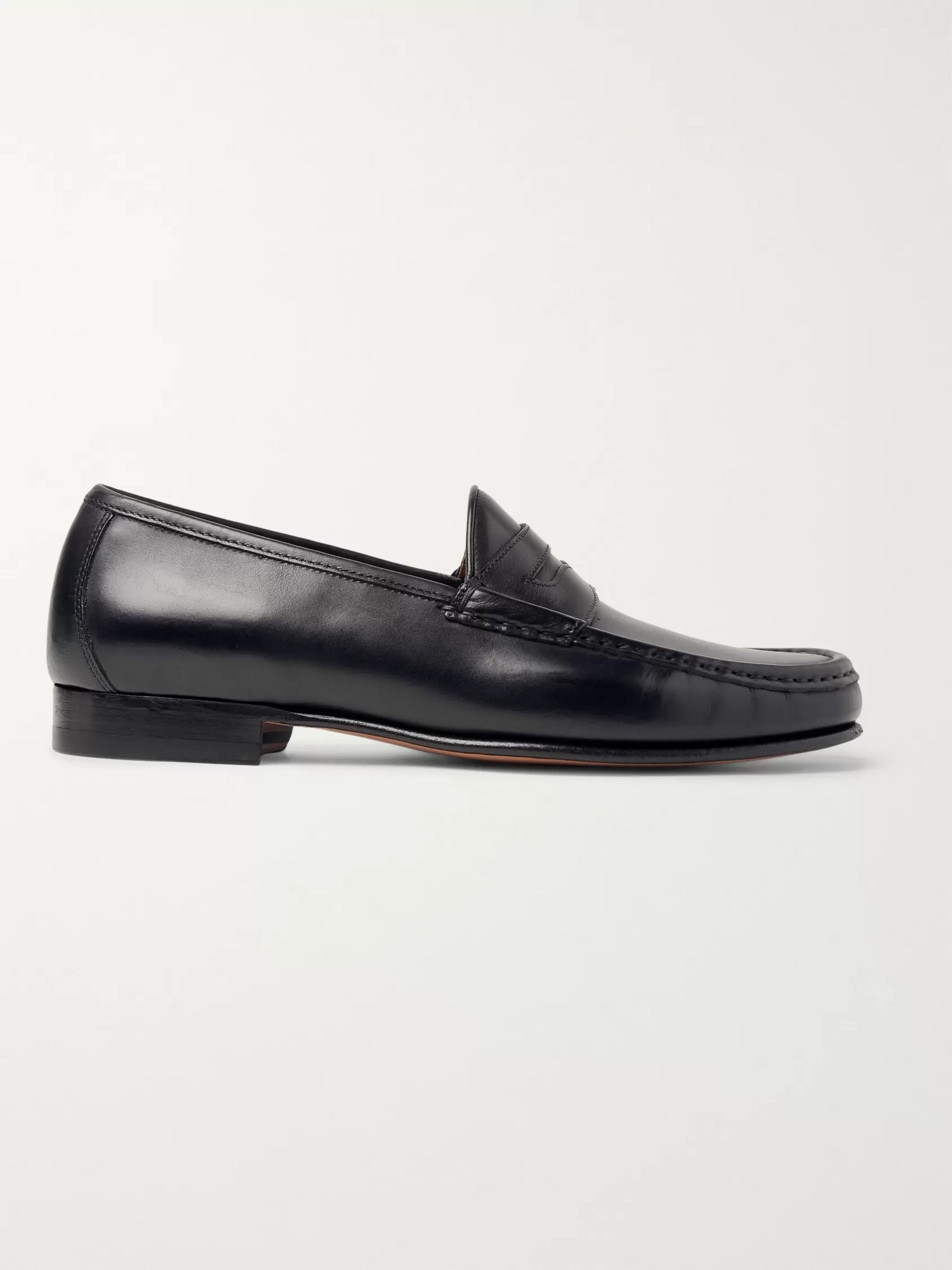 Yuketen Leather Penny Loafers