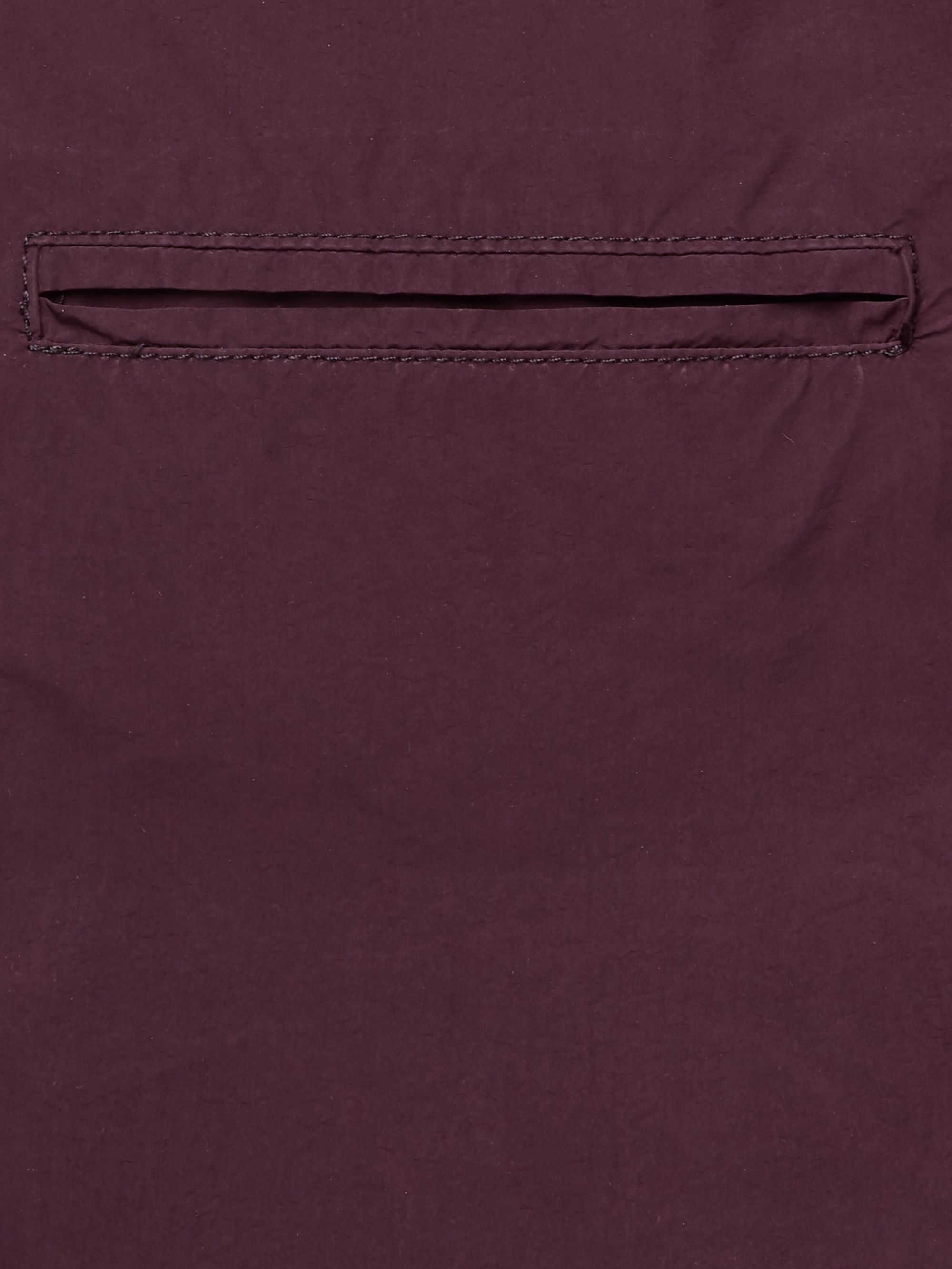 Aspesi Burgundy Slim-Fit Unstructured Shell Blazer