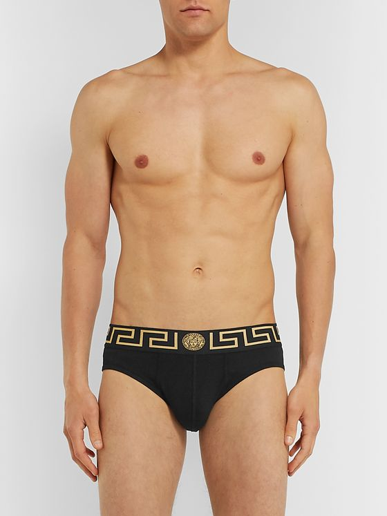 Versace Stretch-Cotton Briefs