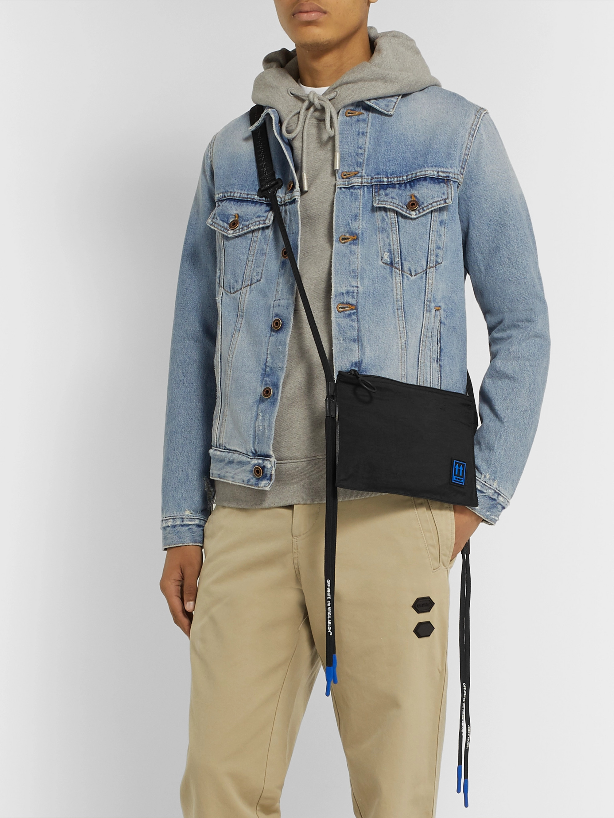 Off-White Shell Messenger Bag
