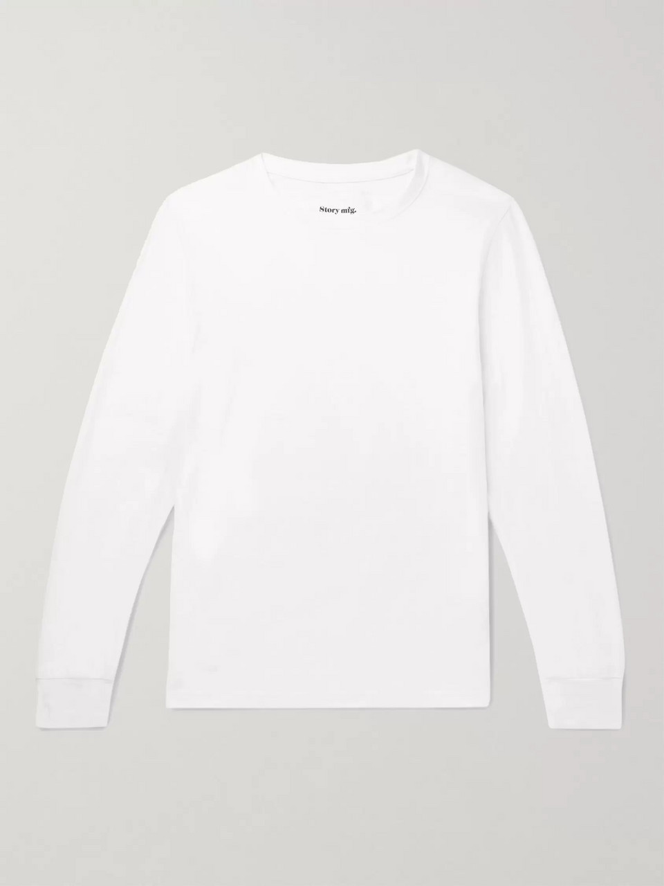 Story Mfg. Cotton-Jersey T-Shirt