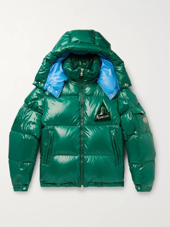 Moncler Wilson Quilted Shell Hooded Down Jacket