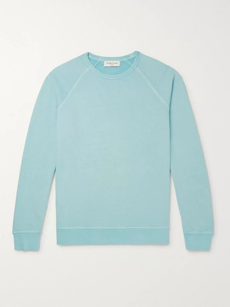 YMC Schrank Loopback Cotton-Jersey Sweatshirt