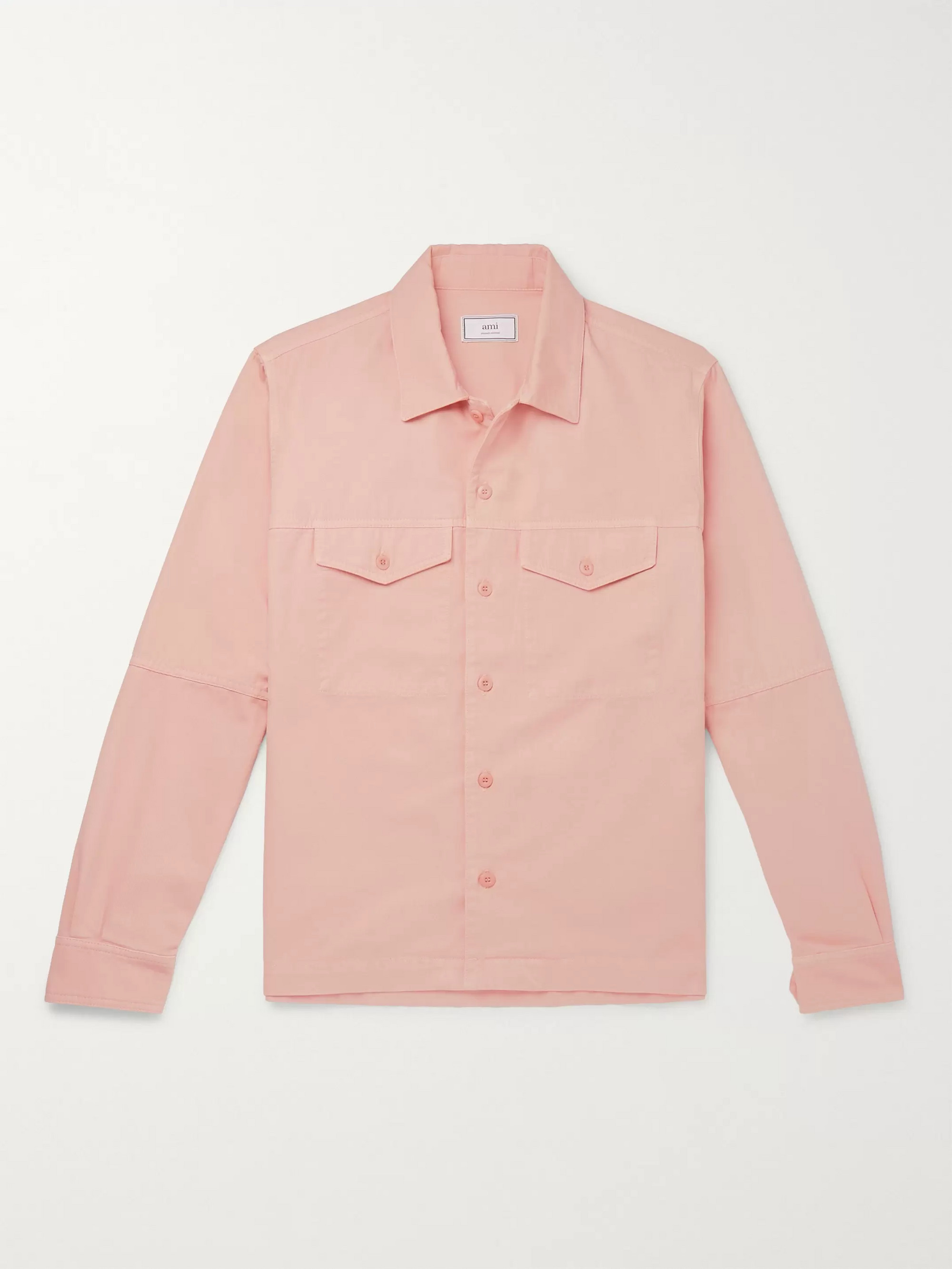 AMI Cotton-Twill Overshirt