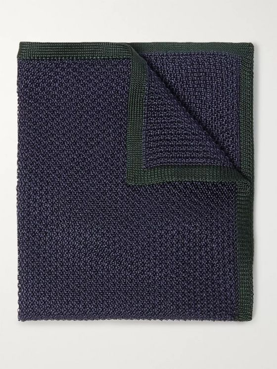 Brioni Silk Pocket Square