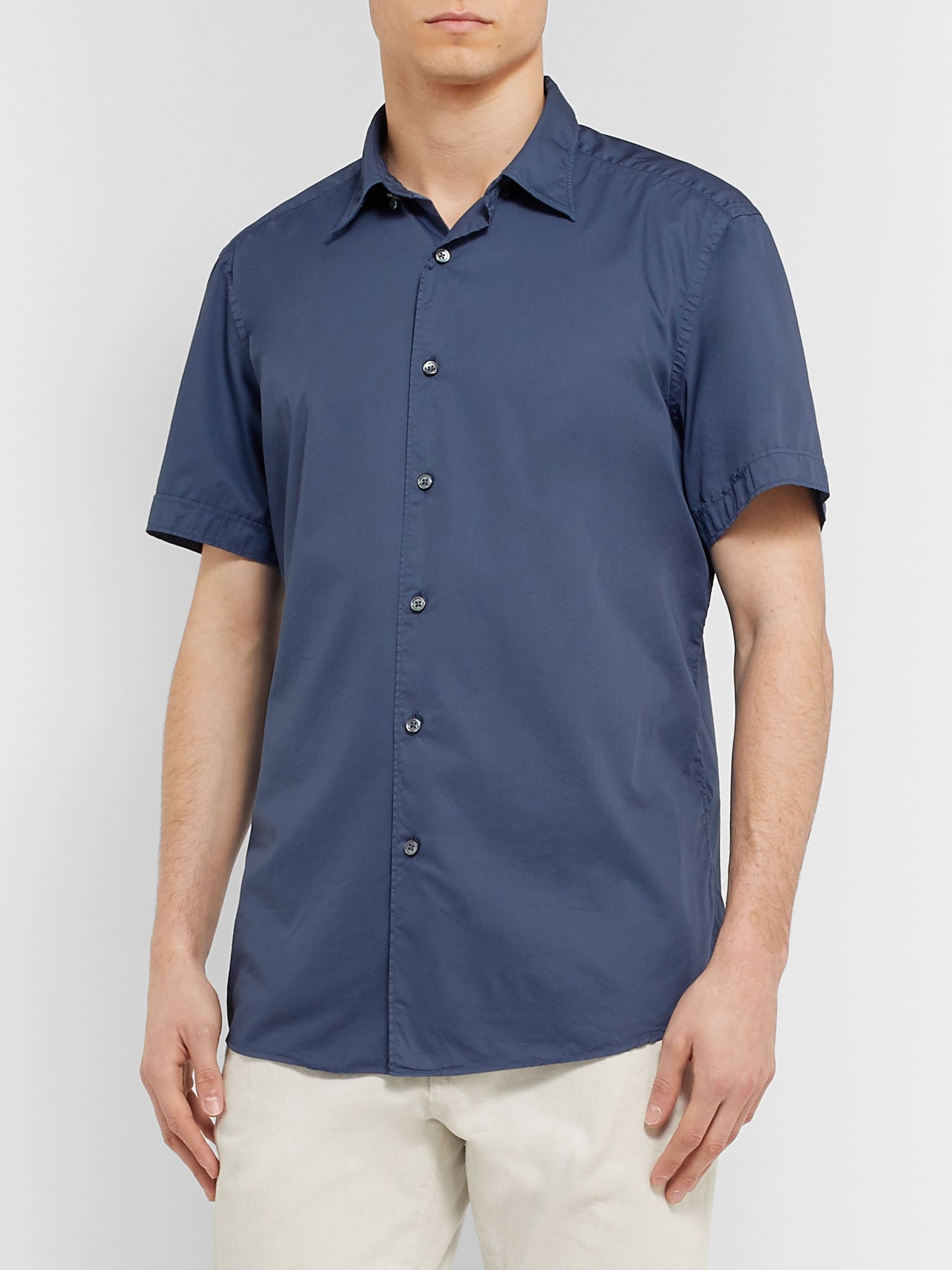 Ermenegildo Zegna Cotton Shirt