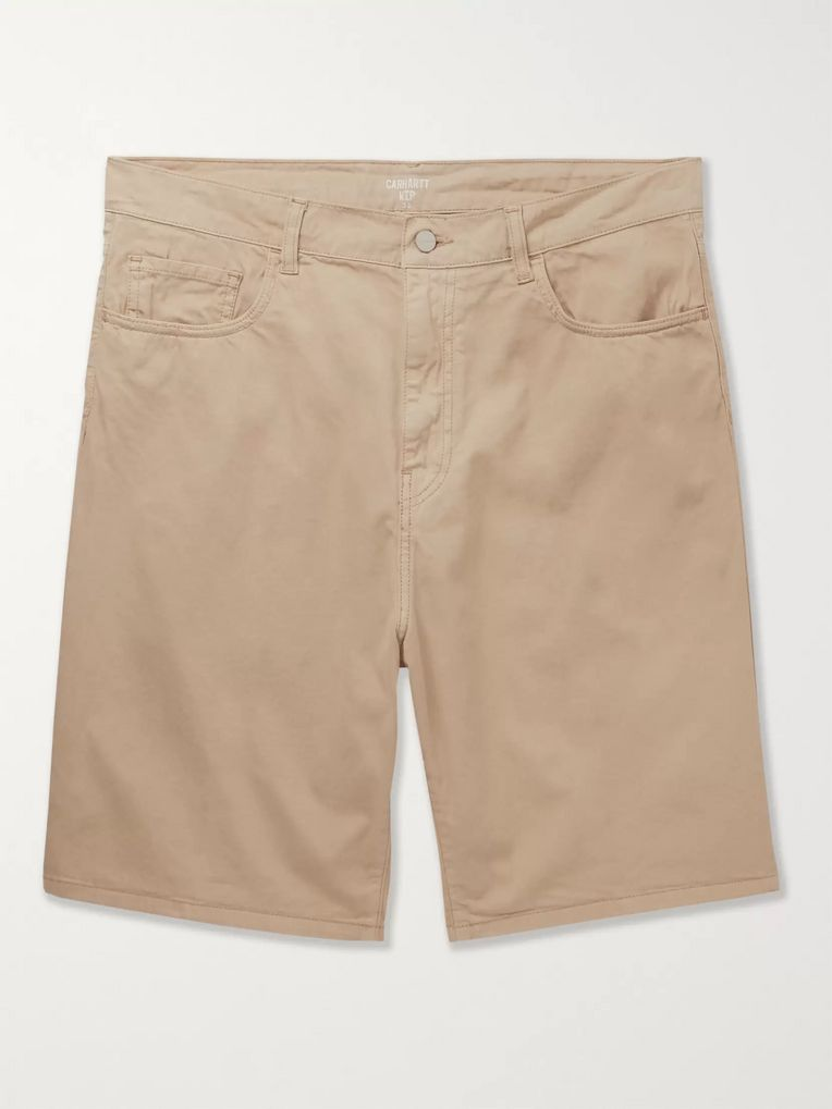 Carhartt WIP Foreman Cotton-Blend Twill Shorts