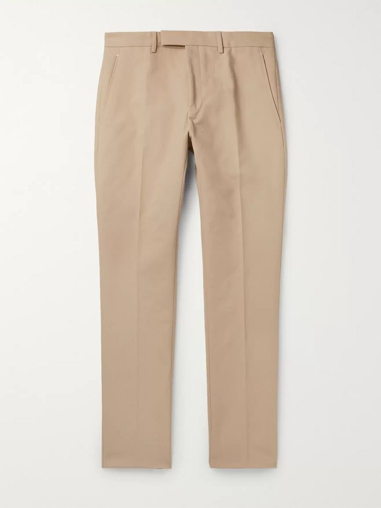 Berluti Slim-Fit Tapered Cotton-Twill Chinos
