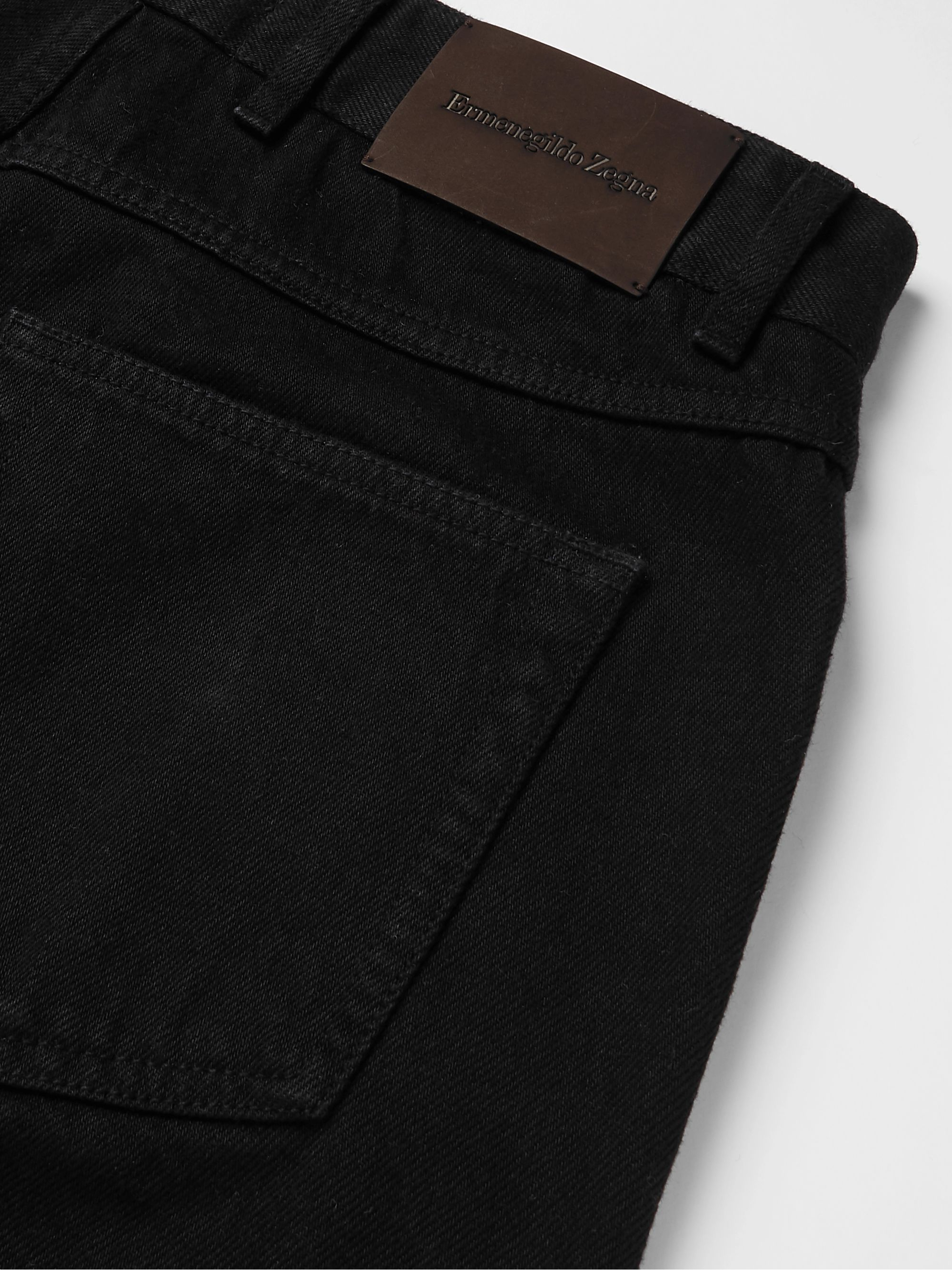 Ermenegildo Zegna Slim-Fit Denim Jeans