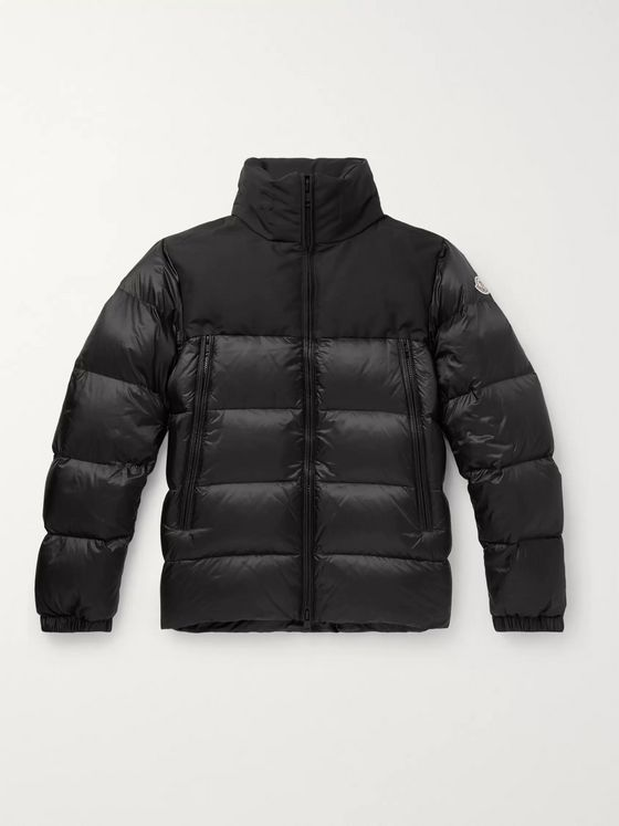 Moncler Faiveley Slim-Fit Quilted Shell Down Jacket