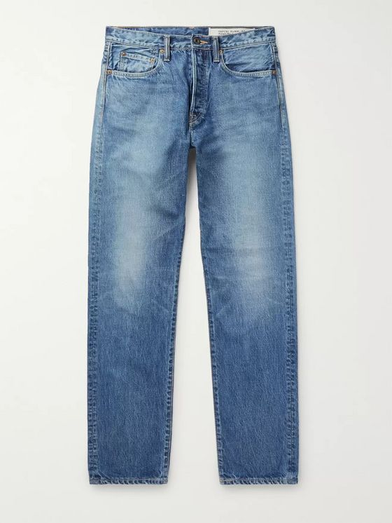 KAPITAL Monkey Cisco Distressed Denim Jeans