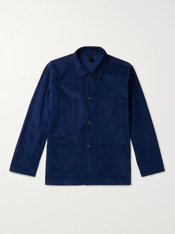Drake's Cotton-Corduroy Chore Jacket