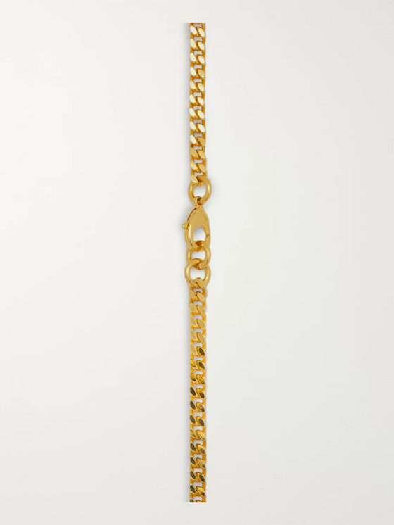Off-White Gold-Tone Necklace