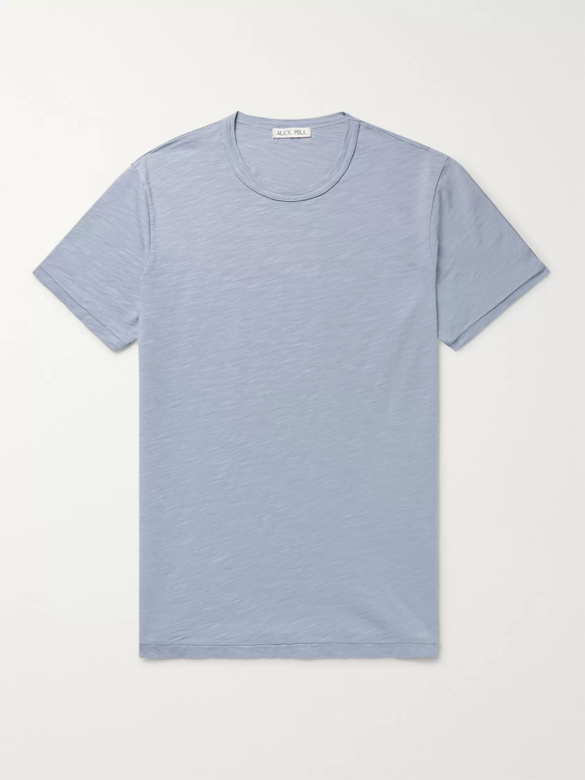 Slim Fit Slub Cotton Jersey T Shirt by Alex Mill