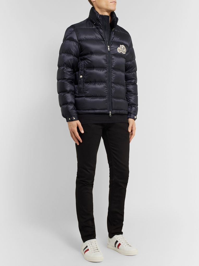 Moncler Slim-Fit Quilted Shell Hooded Down Jacket