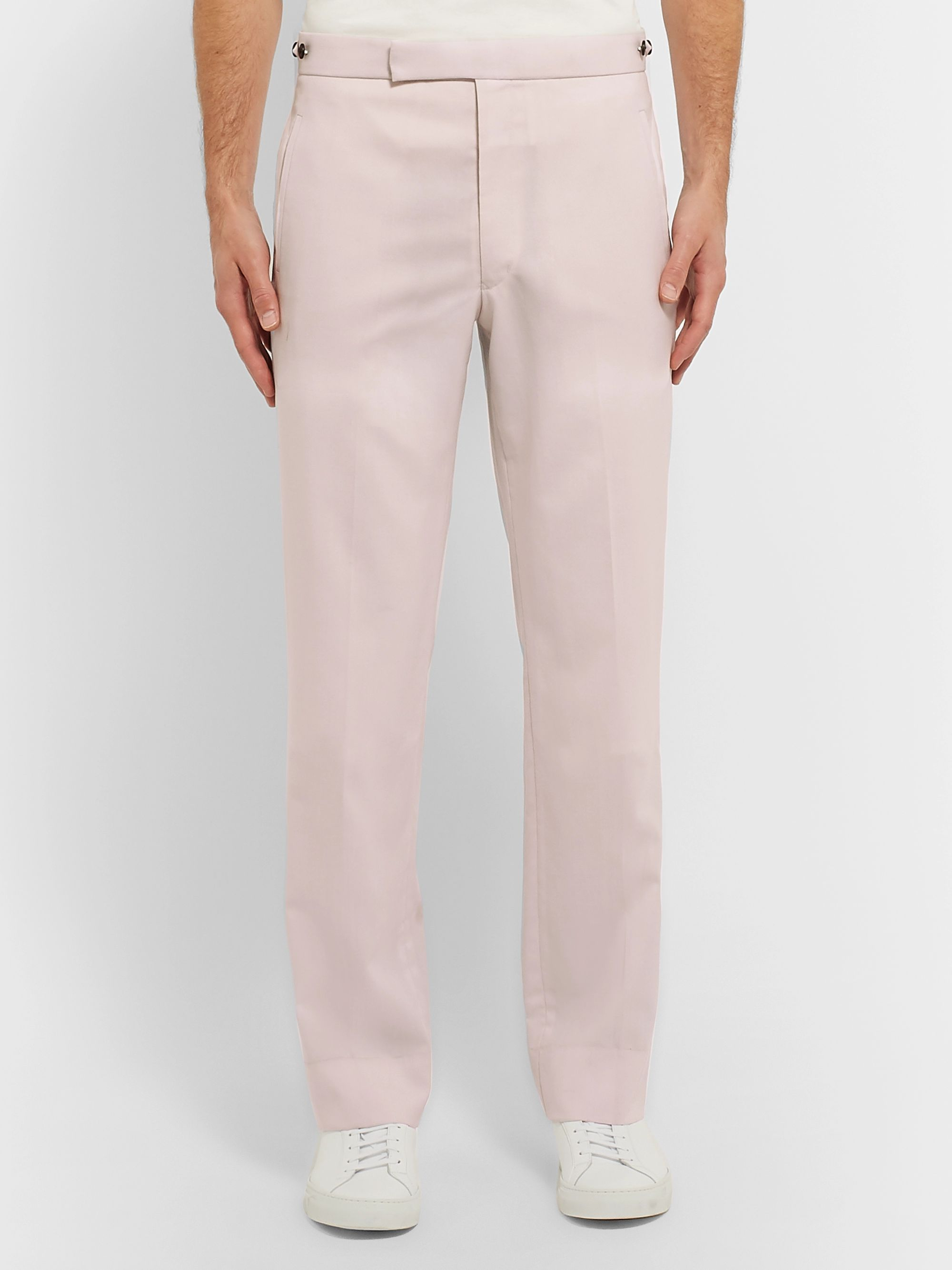 Gabriela Hearst Off-White Wool Suit Trousers