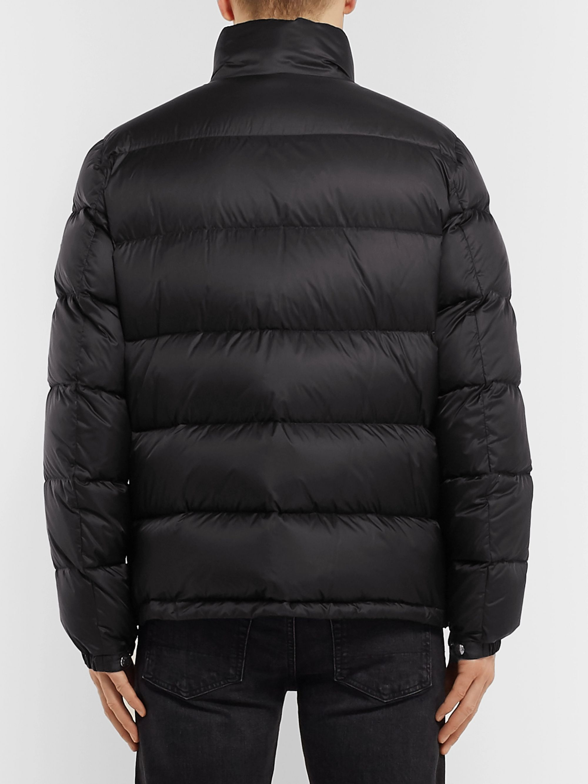 Moncler Zin Slim-Fit Quilted Shell Down Jacket