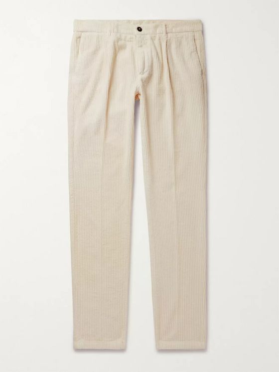Altea Slim-Fit Cotton-Corduroy Trousers