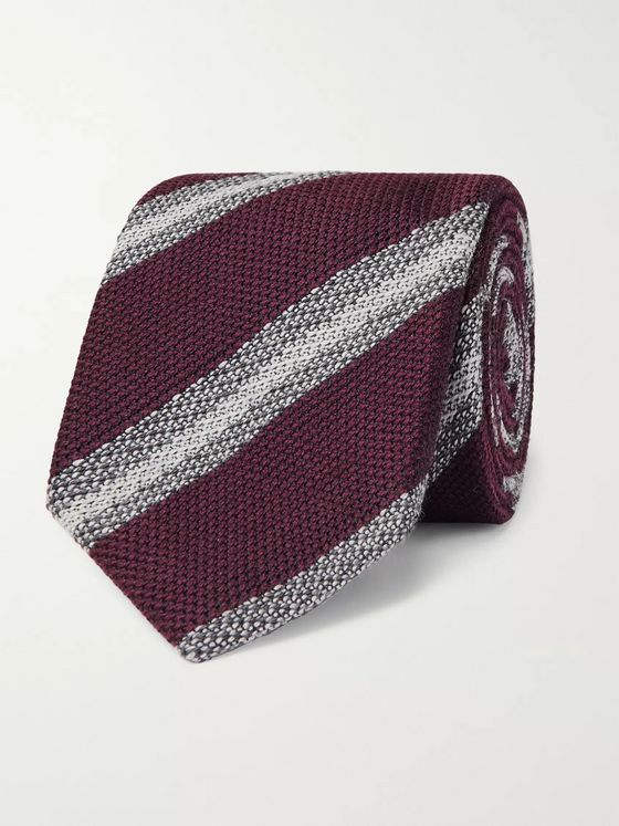 Brioni 8cm Wool and Silk-Blend Tie