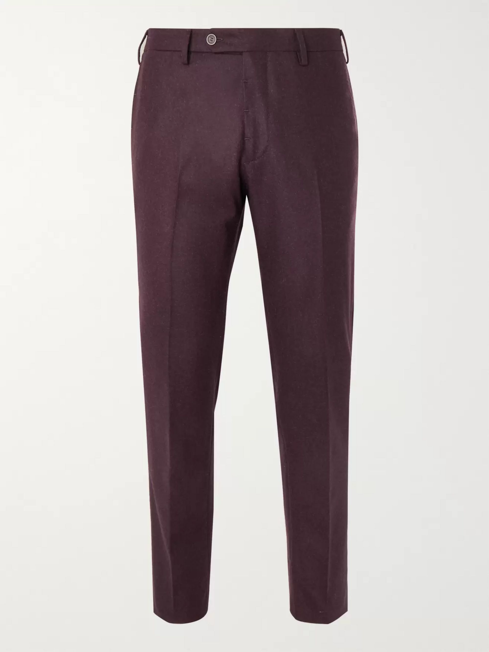 Lardini Skinny-Fit Wool Trousers