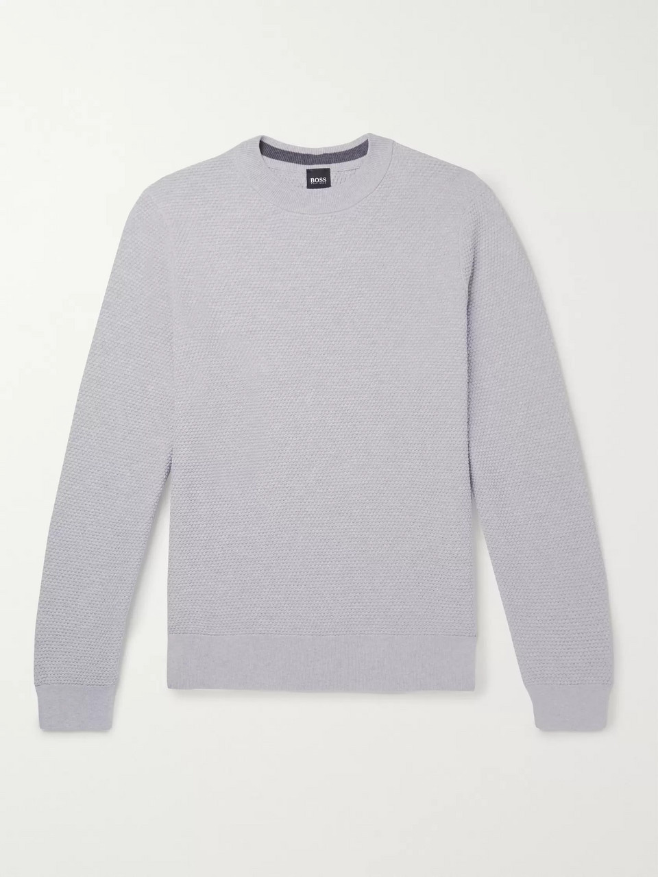 Hugo Boss Textured Pima Cotton Sweater