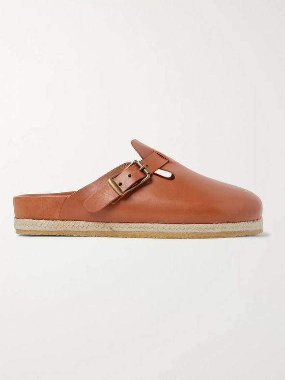 Yuketen Bostonian Leather Sandals